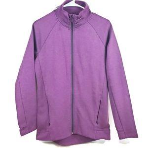 Purple Kirkland Womens Zip Up Jacket Medium EUC